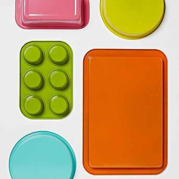 Colorful 5-Piece Bakeware Set