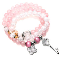 Crystal Chain Fashion Stylish Handcrafts Bracelet | mother'day gift | gift for mom = 4831618500