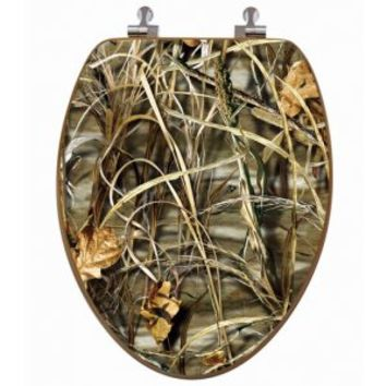 max 4 camo oak toilet seat cover from realtree outdoors