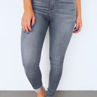 Laid Back Jeans: Grey