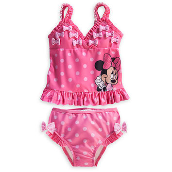 1e4bef8b220ad Minnie Mouse Tankini Swimsuit for Baby from DISNEY STORE