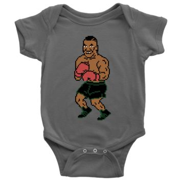 Retro Mike Tyson Punchout Inspired Infant Bodysuit