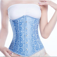 Waist Shaper Body Sexy Palace Slim Steel Boned Corset [4965316484]