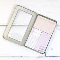 Freakin' Professional Tin of Sticky Notes