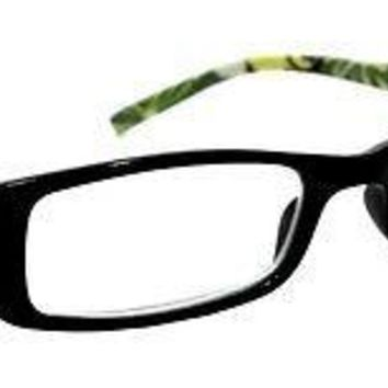 WOMEN RETRO READING GLASSES CLASSIC PARADISE STYLE SPRING HINGES FRAME READERS