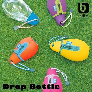 Water Drop Bottle With Cover