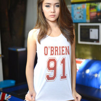 Dylan Obrien Stiles Stilinski Teen Wolf Tank for Teen Teenager Swag Dope Tumblr Blogger Clothes Women Fashion Shirt Chirstmas Gifts
