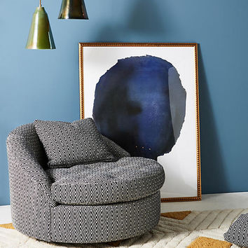 Wool Diamond Barwick Swivel Chair