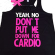 Pitch Perfect - Black - Womens Fitness Clothing - Workout shirt - Fitness Shirt - Gym Apparel - Motivational Shirt - Ruffles with Love