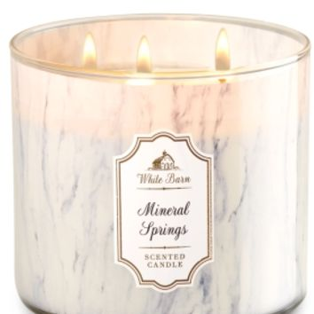3-Wick Candle Mineral Springs