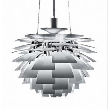 D1200mm 1 light nordic modern countryside corridor hallway pine cone pendant lamp light chandeliers