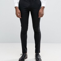 Only & Sons Super Skinny Tuxedo Pants at asos.com