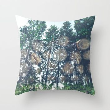 Wild Throw Pillow by Gallery One