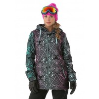 Volcom Women's Magnum Insulated Jacket (Purple Haze) Snowboard Jackets Women's Jackets
