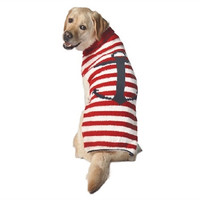 Anchor Stripe Dog Sweater by Chilly Dog