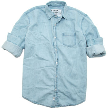 Frank & Eileen Luke Classic Blue Denim Wash Shirt