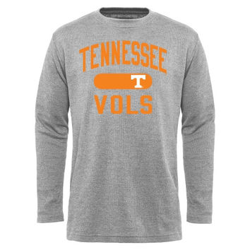 Tennessee Volunteers Straight Out Long Sleeve Thermal T-Shirt - Gray