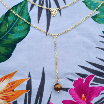Exotic Drop Necklace