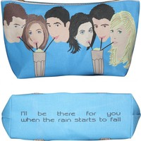 Friends Makeup Bag – Pop Icon Zipper Pouch