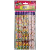Party Favors Moose Shopkins 24pk Pencils in Bag with Header