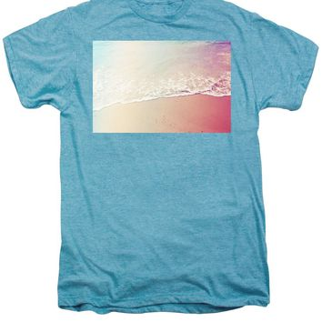 Ocean Air, Salty Hair, Watercolor Art By Adam Asar - Asar Studios - Men's Premium T-Shirt