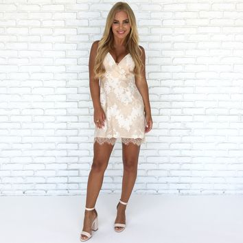 Cream Of Dreams Lace Dress