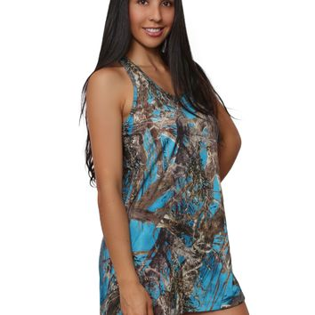Women's Camo Tank Dress Authentic True Timber Made in the USA
