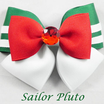 Sailor Pluto Hair Bow ( Sailor Moon )