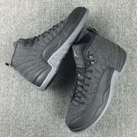 "Nike Air Jordan 12 Retro ""Wool""  6.5y-15"