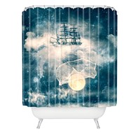 Belle13 I Am Gonna Bring You The Moon Shower Curtain
