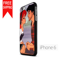 Ariel And Eric Kissing Design US iPhone 6 Case