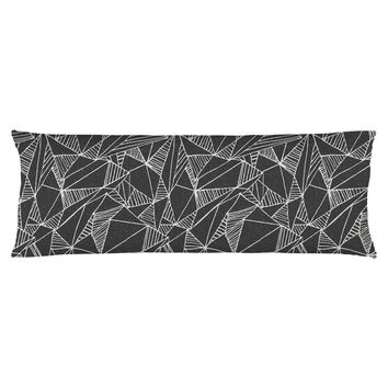Geometric Textures Body Pillow