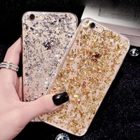 Glitter Phone Case For Samsung Galaxy Note 8 Girl Soft Silicone Tpu Case For Samsung Galaxy S6 S7