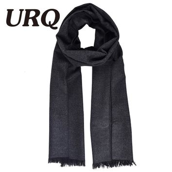 winter warm man scarf solid soft tartan bussiniss style Acrylic adult fashion scarf luxury brand 2017 new
