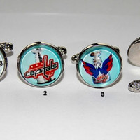 Stanley cup cufflinks stanley cup jewelry ovi washington capitals ovechkin alex