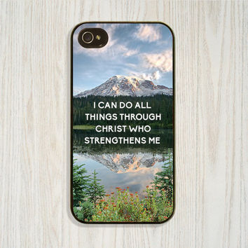 Inspirational Quote, Personalized iPhone 5 5c 5s Case, iPhone 4 4s Scenery Cellphone Cases, Samsung Galaxy s4 s5 Case, Christian Cell Cover