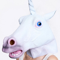 Unicorn Mask - Urban Outfitters