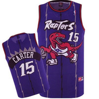 Toronto Raptors Vince Carter #15 Throwback Away Jersey