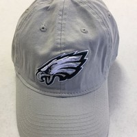 BRAND NEW REEBOK PHILADELPHIA EAGLES LIGHT GRAY RELAX FIT FITTED HAT