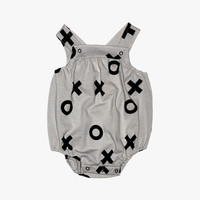 Beau Loves Harper Sunsuit in Grey - FINAL SALE