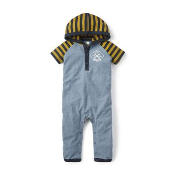 Tea Collection Garaje Hooded Romper