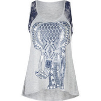 DESTINED Elephant Womens Tank 199875130 | Graphic Tees & Tanks | Tillys.com