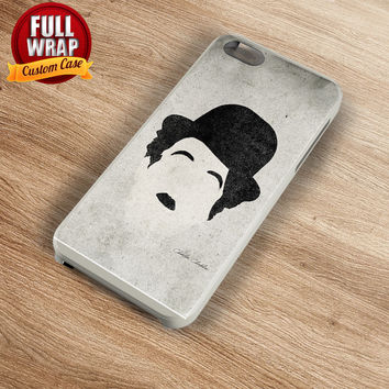 Charlie Chaplin Art Work Logo Full Wrap Phone Case For iPhone, iPod, Samsung, Sony, HTC, Nexus, LG, and Blackberry