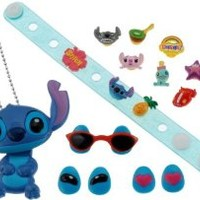 Disney Stitch character chip wristband set (japan import)