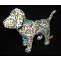 Victoria's Secret Pink 2009 Doodle Graffiti Dog