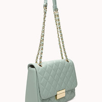 Signature Quilted Shoulder Bag
