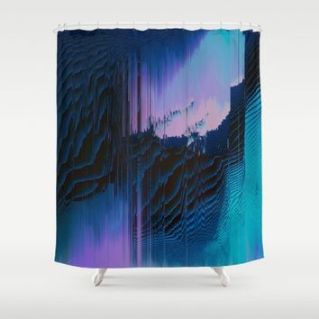Lavender Oil Shower Curtain by Ducky B