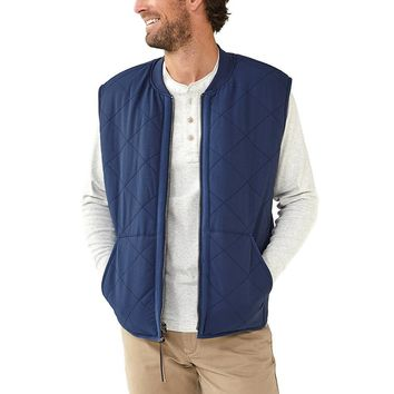 Normal Brand Lincoln Sherpa Lined Vest - Navy