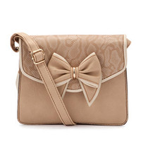 Stone Gertie Bow Structured Bag
