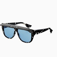 """DiorClub2"" sunglasses, blue - Dior"